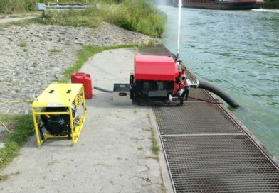 Übung am Kanal